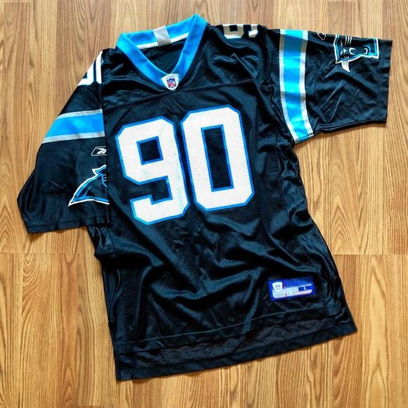 best service 009e5 2ec48 NFL #90 Julius Peppers Carolina Panthers Jersey